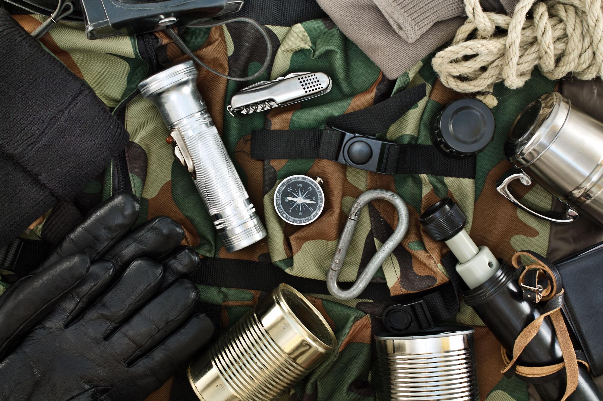 Survival kit zelf samenstellen of toch kopen?