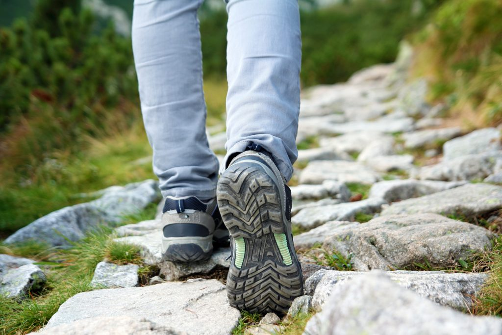 Schoenen langzaam inlopen