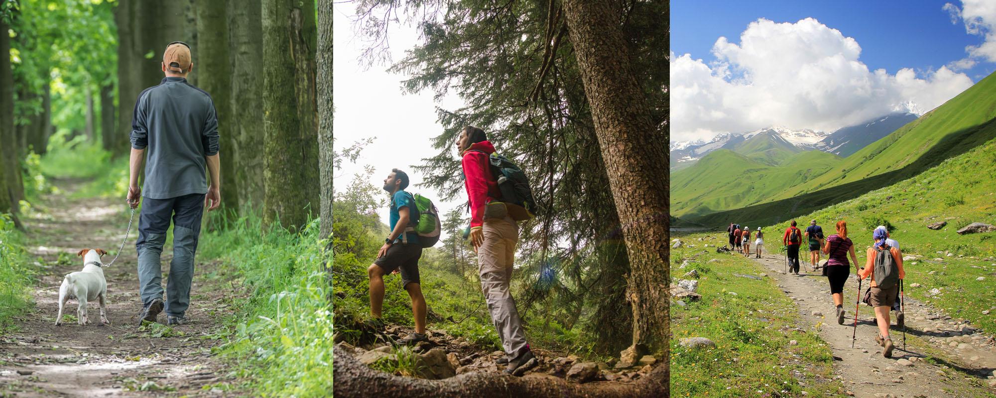 Wandelen, hiken of trekking… Wat is het verschil?